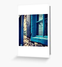 Old Town. Greeting Card