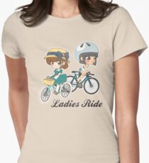 Ladies Ride Women's Fitted T-Shirt