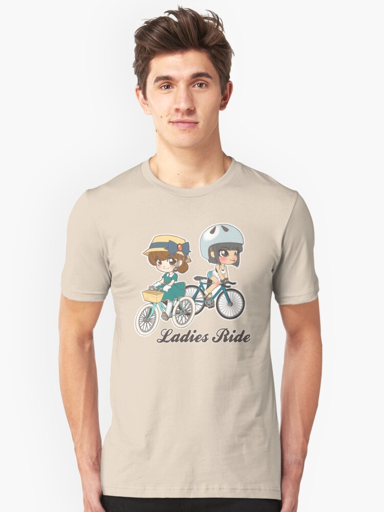 Ladies Ride Unisex T-Shirt Front