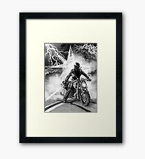Woman of Thunder Framed Print