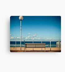 Bondi Beach Bench  Canvas Print