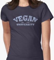 Vegan University Women's Fitted T-Shirt