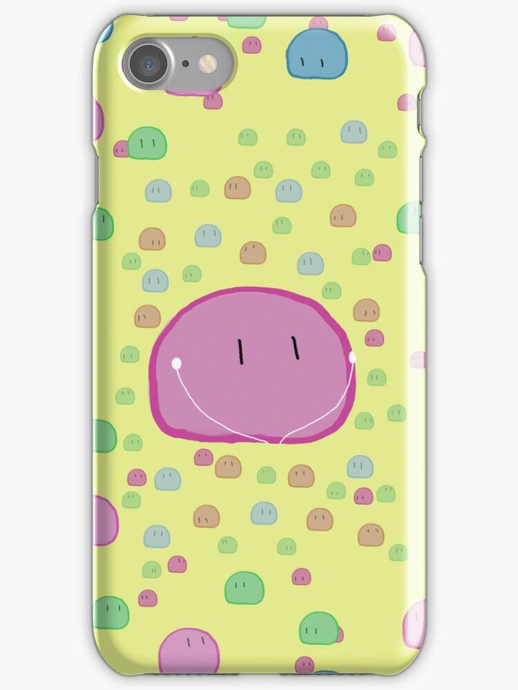 Clannad - Pink Dango IPod Case by Kyrannyx