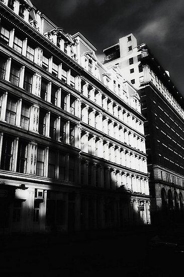 gotham city shadows by ShellyKay