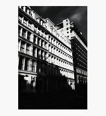 gotham city shadows Photographic Print
