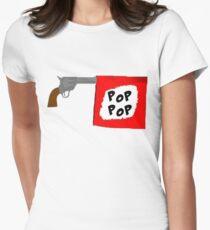 Magnitude Pop Pop Women's Fitted T-Shirt