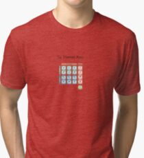 The God Particle: Higgs Boson and the Standard Model Tri-blend T-Shirt