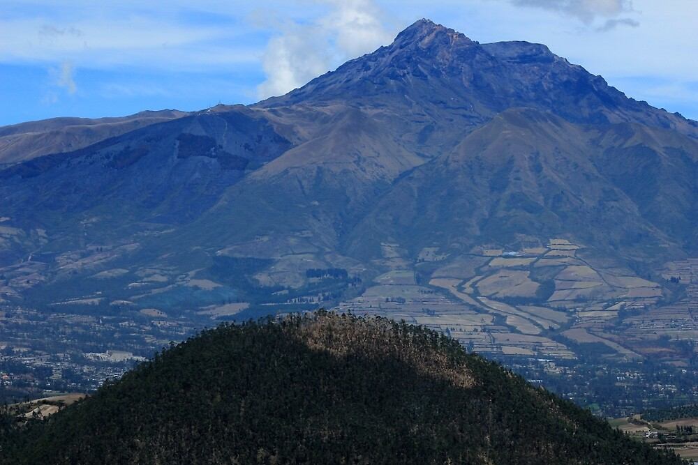 The Dormant Volcano Mount Cotacachi by rhamm