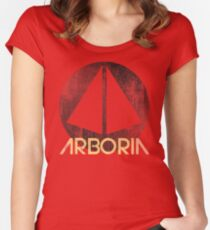 Arboria Institute  Women's Fitted Scoop T-Shirt