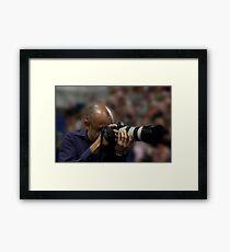 Big Shooter Framed Print
