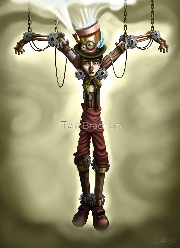 Steam Punk Pinocchio by Tom Bradnam