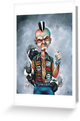 Skunk Punk by Bryan Collins