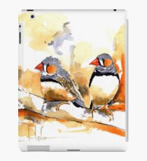 Zebra Finches iPad Case/Skin