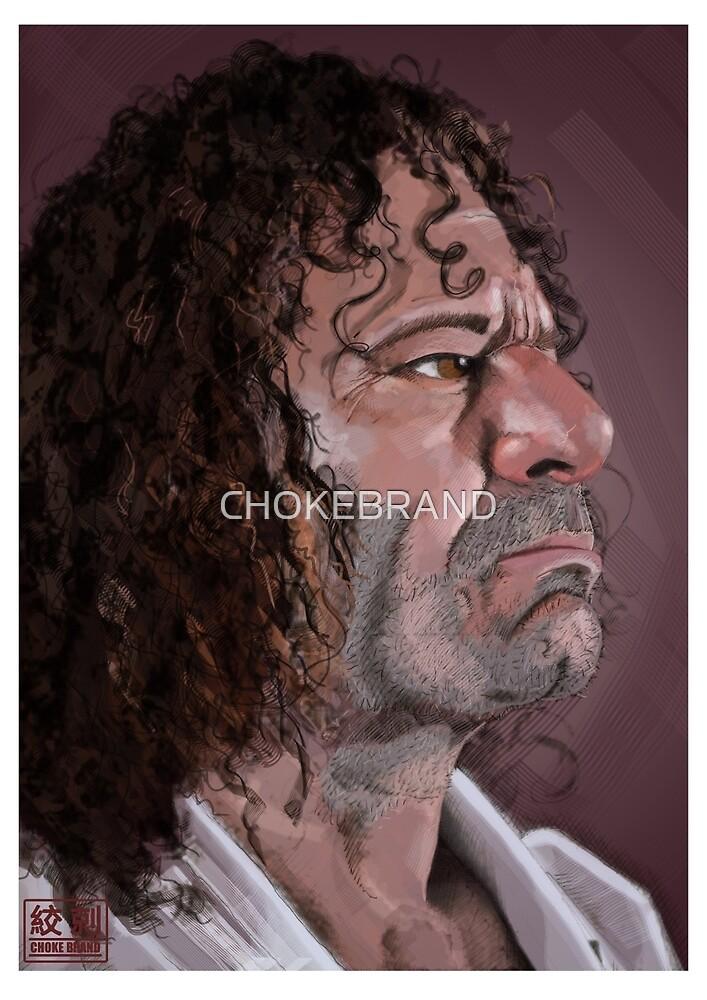 Kurt Ossiander Digital Portrait by CHOKEBRAND