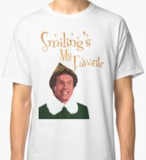 Buddy The Elf - Smiling's My Favorite Classic T-Shirt