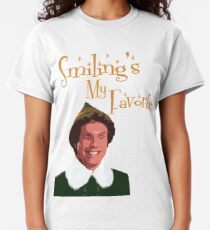 Buddy The Elf - Smiling My Favorite Classic T-Shirt