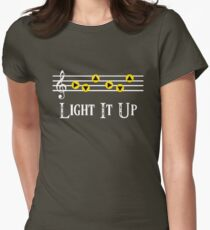 Light it Up Womens Fitted T-Shirt