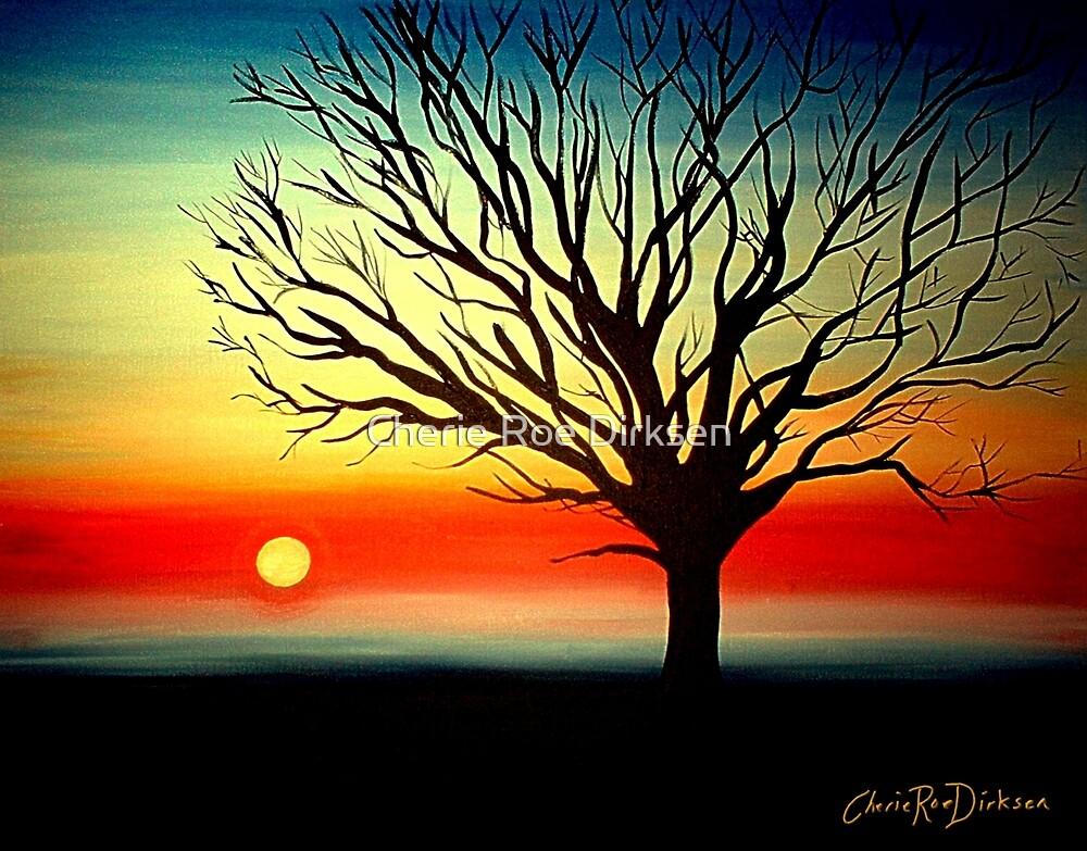 Tree Silhouette by Cherie Roe Dirksen