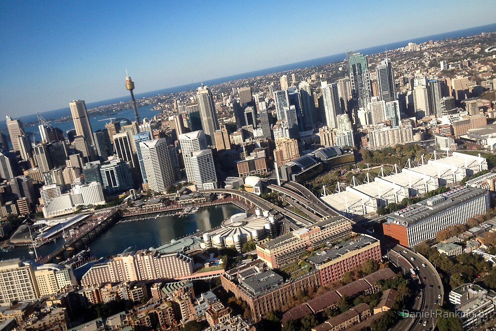 Darling Harbour, a flight by Daniel Rankmore