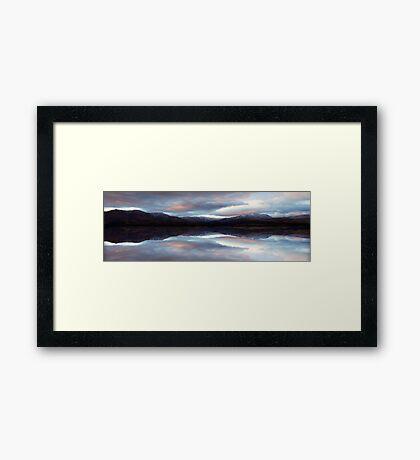 Lake Aviemore - NZ Framed Print