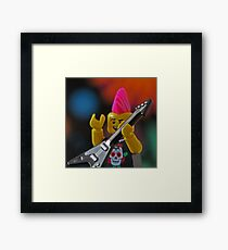 LEGO(R) Rocks!!! Framed Print