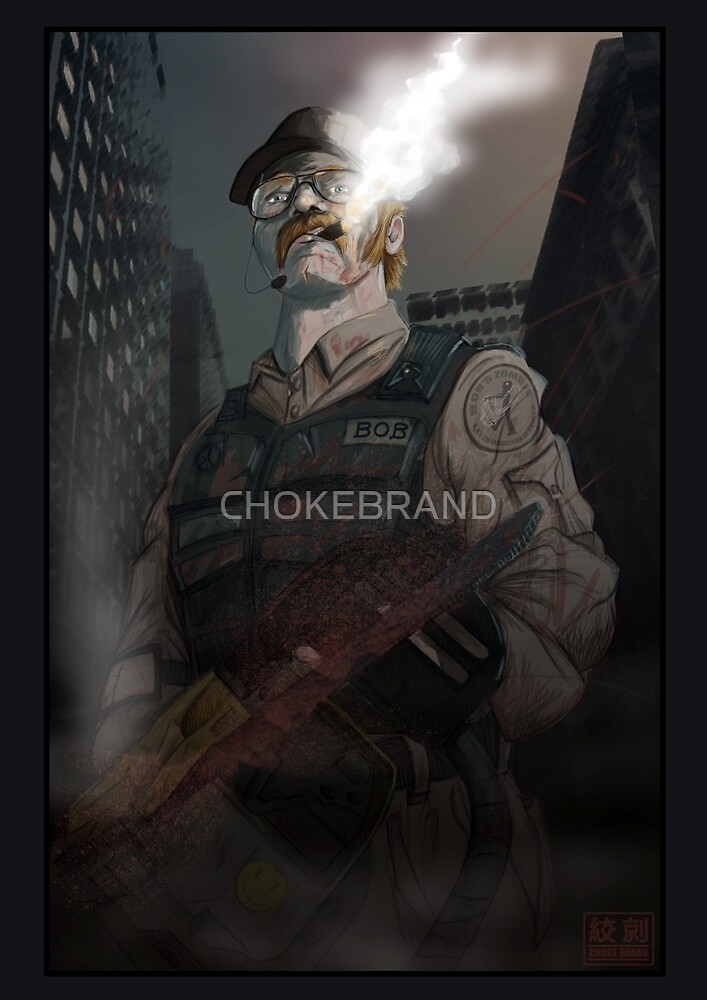 Bob the Zombie Exterminator by CHOKEBRAND