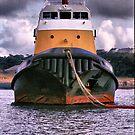 Ocean Going Tug by Brian Beckett