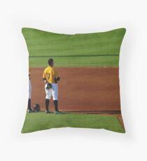 An Evening At The Game ~ Part Four Throw Pillow
