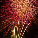 Fireworks Closeup by GraemeR