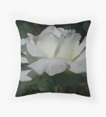 Purely a Rose Throw Pillow