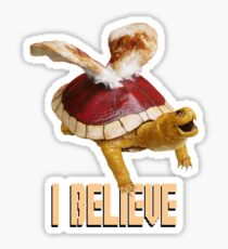 I Believe: Real Koopa Taxidermy Sticker