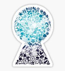 Kingdom Hearts - Keyhole (blue) Sticker