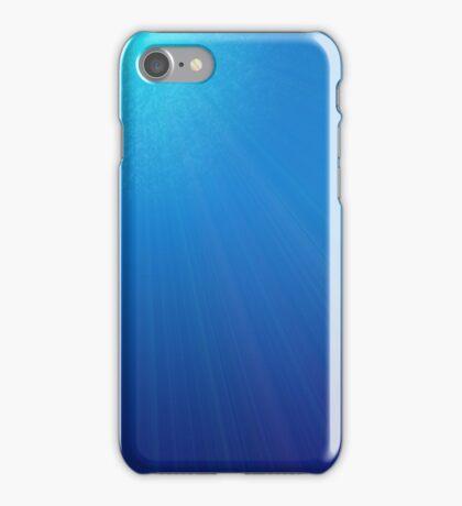 Underwater dawn iPhone Case/Skin