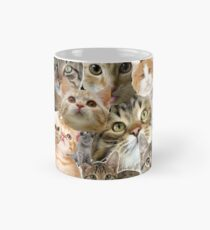 cat collage Mug