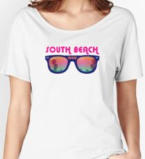 South Beach Miami Women's Relaxed Fit T-Shirt
