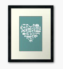 Controller Love Framed Print