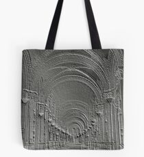 Deep perspective in a bas-relief Tote Bag