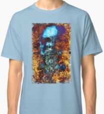 Skull and Flowers Classic T-Shirt
