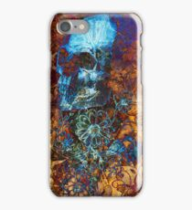 Skull and Flowers iPhone Case/Skin