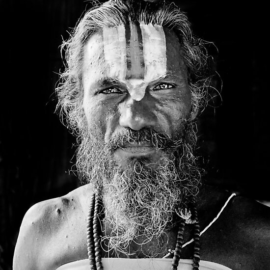 Man in India by Heather Buckley