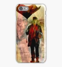 Technicolor Rain ~ Buster Keaton iPhone Case/Skin
