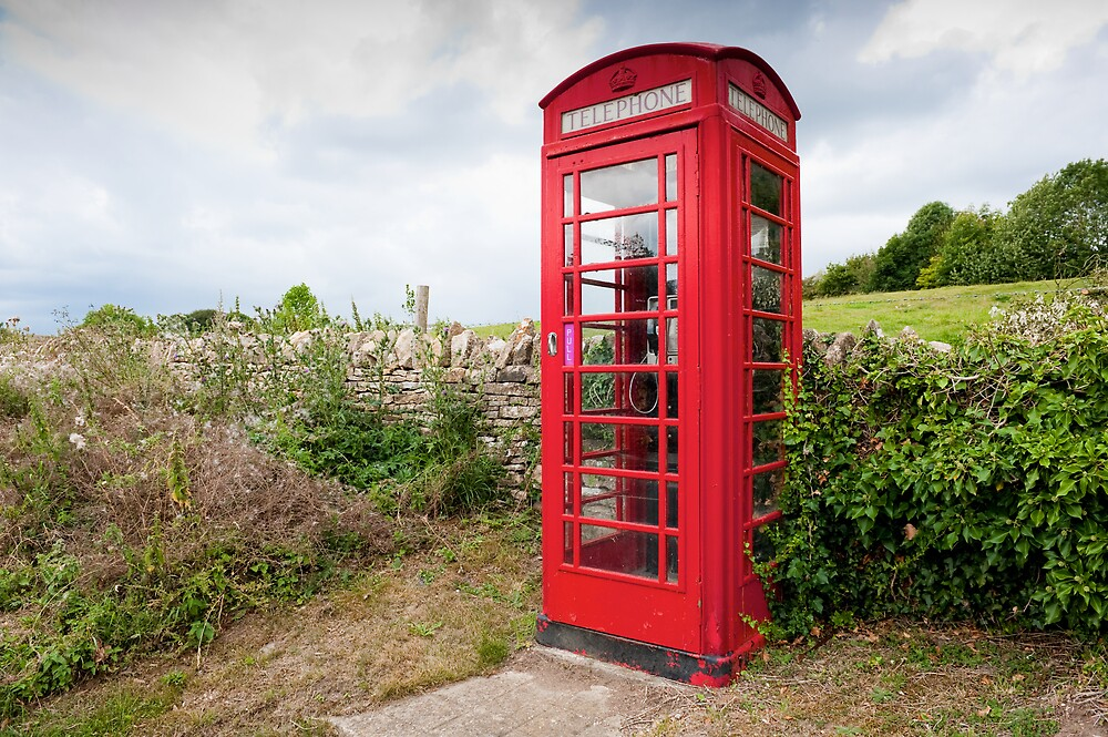 English Telephone Box by BigshotD3