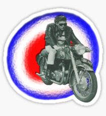 Billy Fury biker Sticker