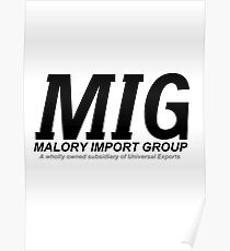 Malory Import Group Poster