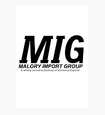 Malory Import Group Photographic Print