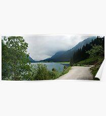 Quiet walk along the lake... Panorama Poster