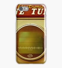 Retro engine tune-up equipment iPhone Case/Skin