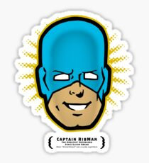 Captain RibMan - Face Sticker