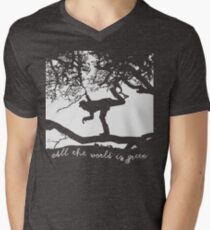Tom Waits - All the World is Green Men's V-Neck T-Shirt