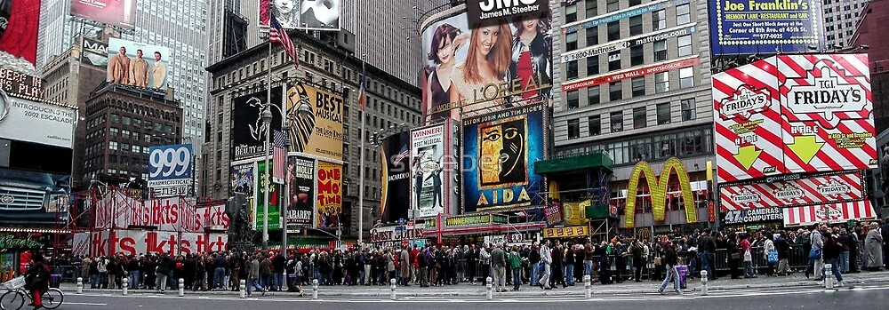 Times Square 2002 by steeber